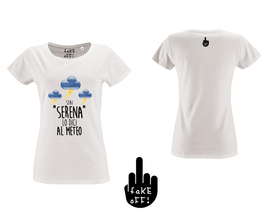 "T-Shirt Donna ""Stai Serena"""