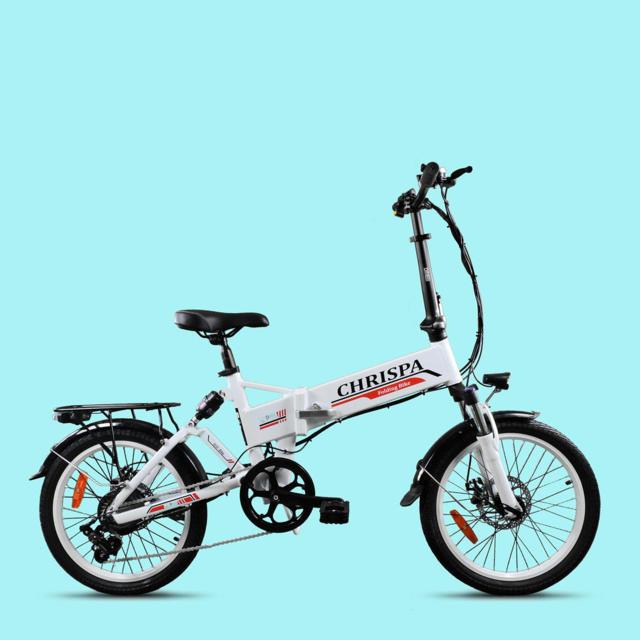 Bici elettrica folding bike CHRISPA V2.2 250w 36v