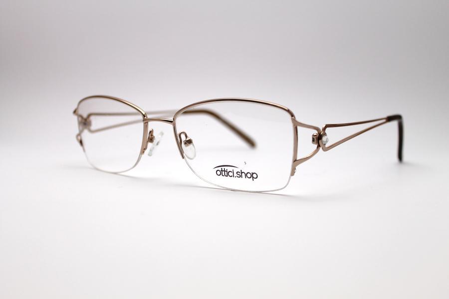 Montatura in metallo OcchialeAmico OSH 11  - Lenti da vista incluse -