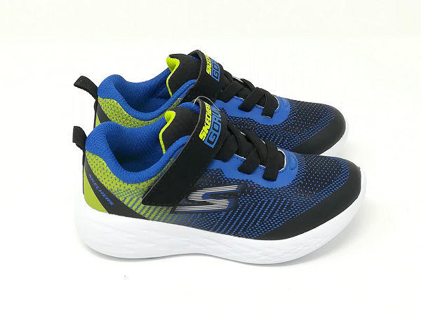 Go Run 600 Kids Blu/Lime - SKECHERS