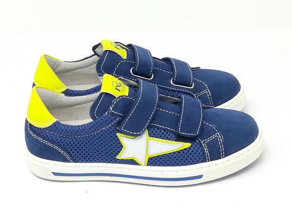 Sneaker Junior Blu/Giallo - NERO GIARDINI Kids & Teens