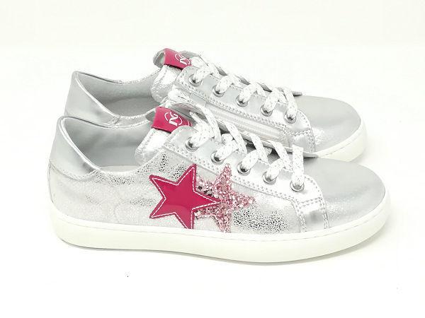Sneaker Stelle Laminato - NERO GIARDINI Kids & Teens