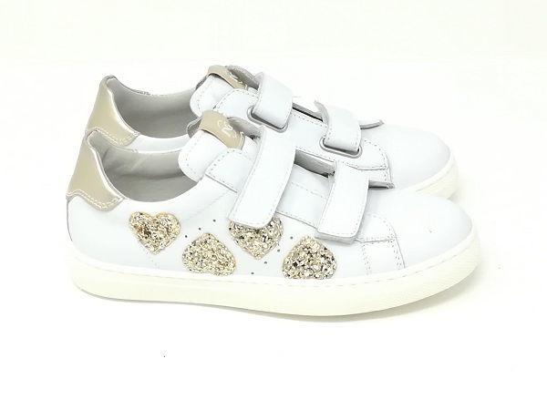 Sneaker Cuori - NERO GIARDINI Kids & Teens