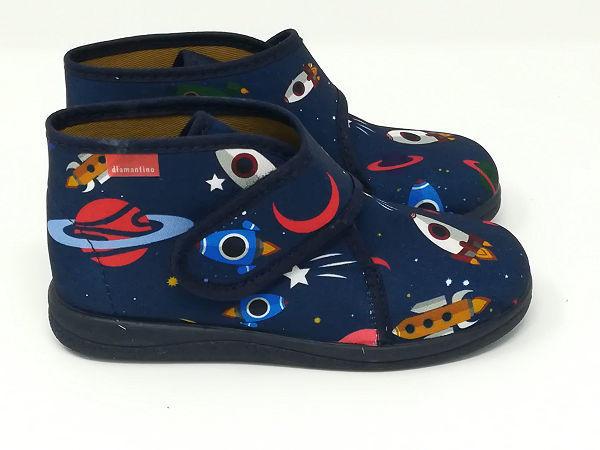 Pantofola Alta Cotone - DIAMANTINO