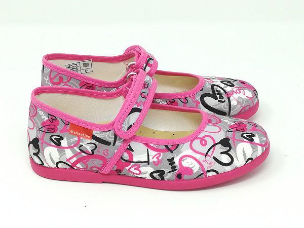 Pantofola Ballerina Cotone - DIAMANTINO