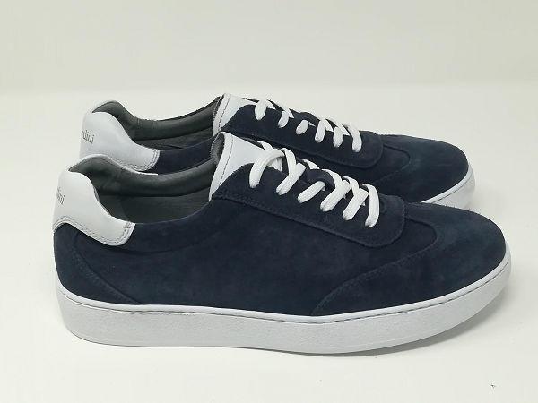 Sneaker Scamosciata Lacci - NeroGiardini