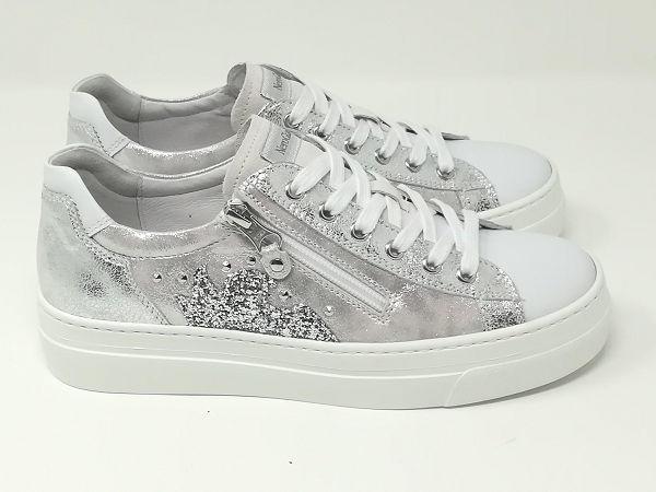 Sneaker Stars Luxury Bianco - NeroGiardini