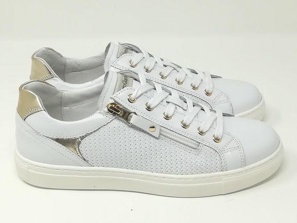 Sneaker Pelle Bianco - NeroGiardini