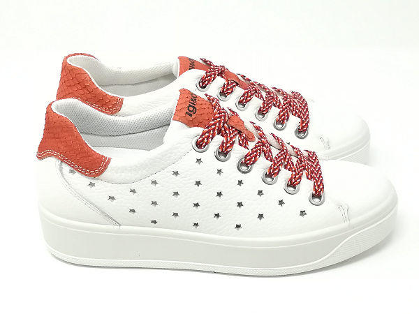 Sneaker Ava Fiore Aragosta - Igi&Co