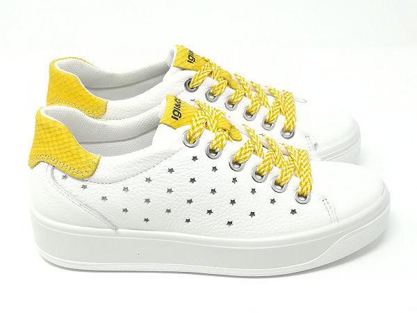 Sneaker Ava Fiore Giallo - Igi&Co