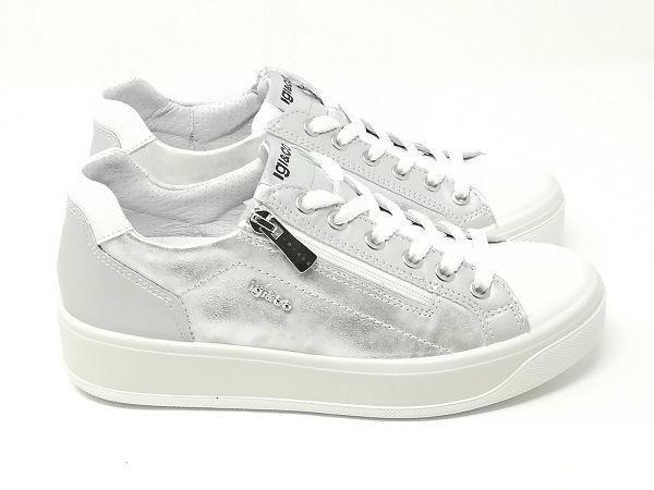 Sneaker Ava Nappa Bianco - Igi&Co