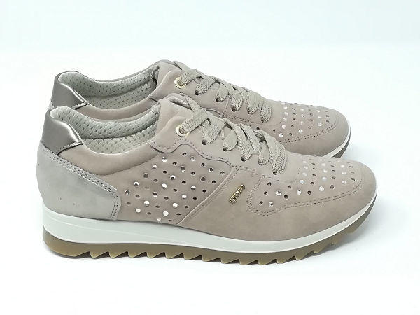 Sneaker Eden Scamosciata/Strass - Igi&Co