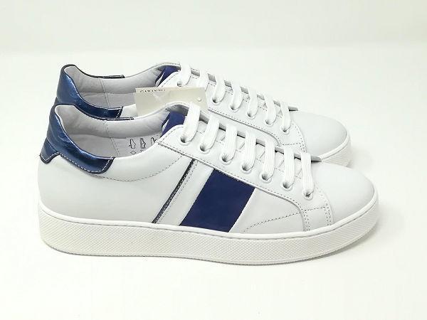 Sneaker Camoscio Laminato  - Giorgio Perticari