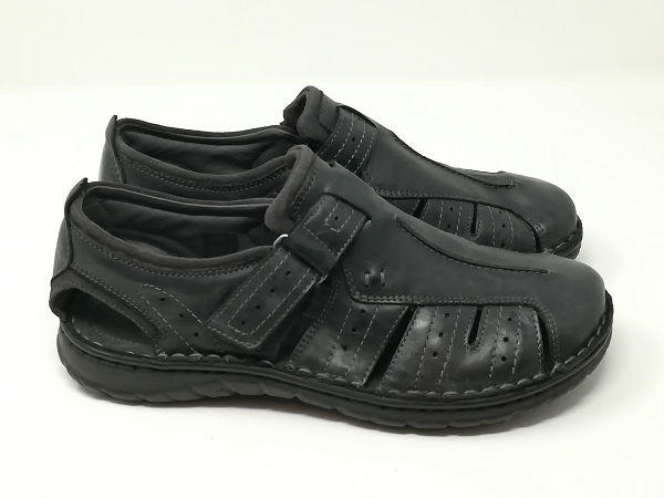 Sandalo Pelle Chiuso