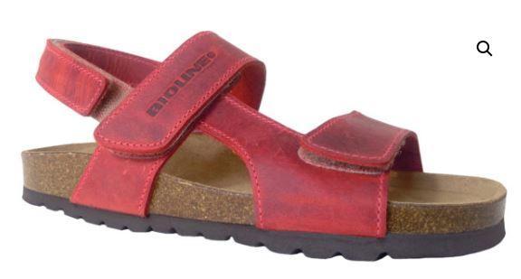 Sandalo Bio Pelle Rosso - BIOLINE