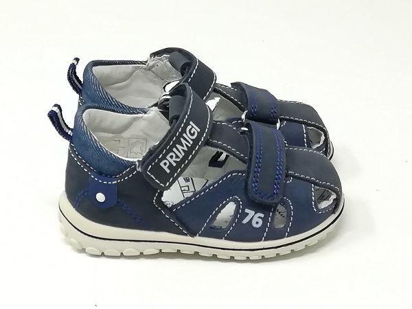Baby Sandalo Chiuso Azzurro - PRIMIGI