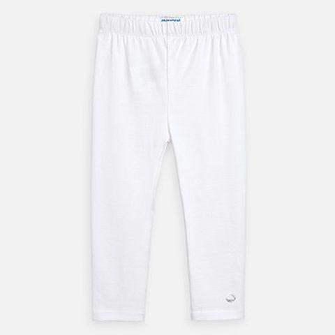 leggings basico lungo - Bianco