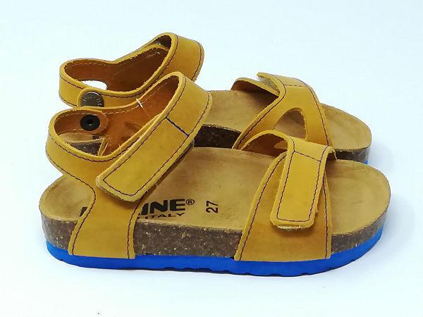Sandalo Bio Pelle Strappi Mais - BIOLINE