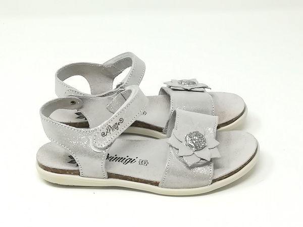 Sandalo Scamosciato Fiore  - PRIMIGI