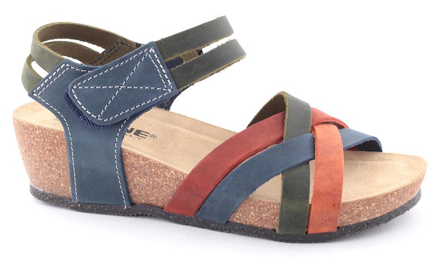 Sandalo Pelle Fasce Strappo - BIOLINE
