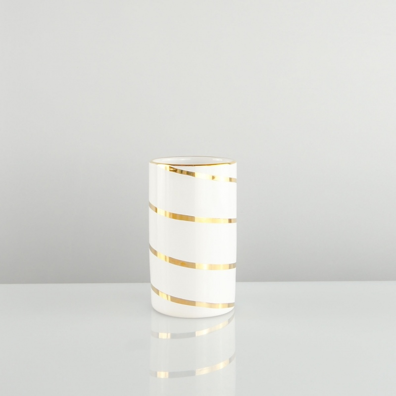 Dosatore sapone Spirale Oro