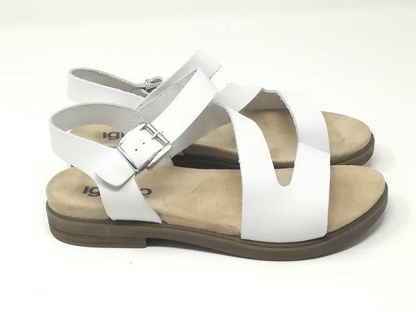 Sandalo Fiore Fibbia - Igi&Co