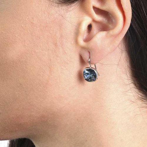 Orecchini monachina con cristalli swarovski BYSIMON