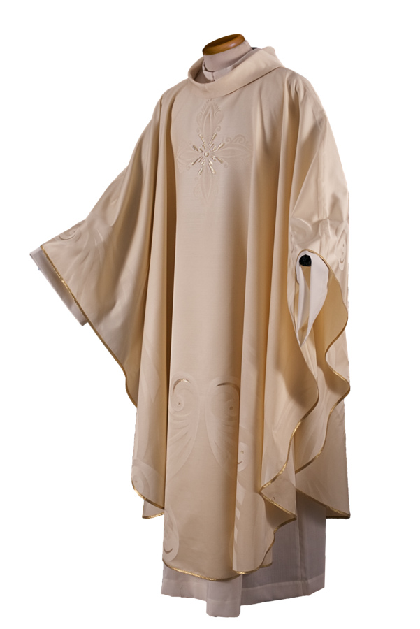 Chasuble in jaquard fabric Cod. 65/000561
