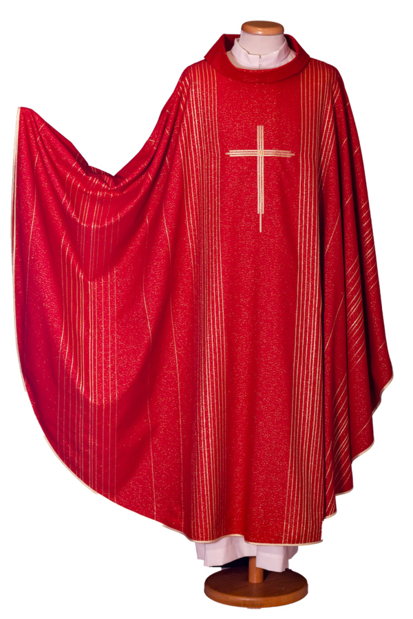 Striped chasuble  Cod. 65/002014