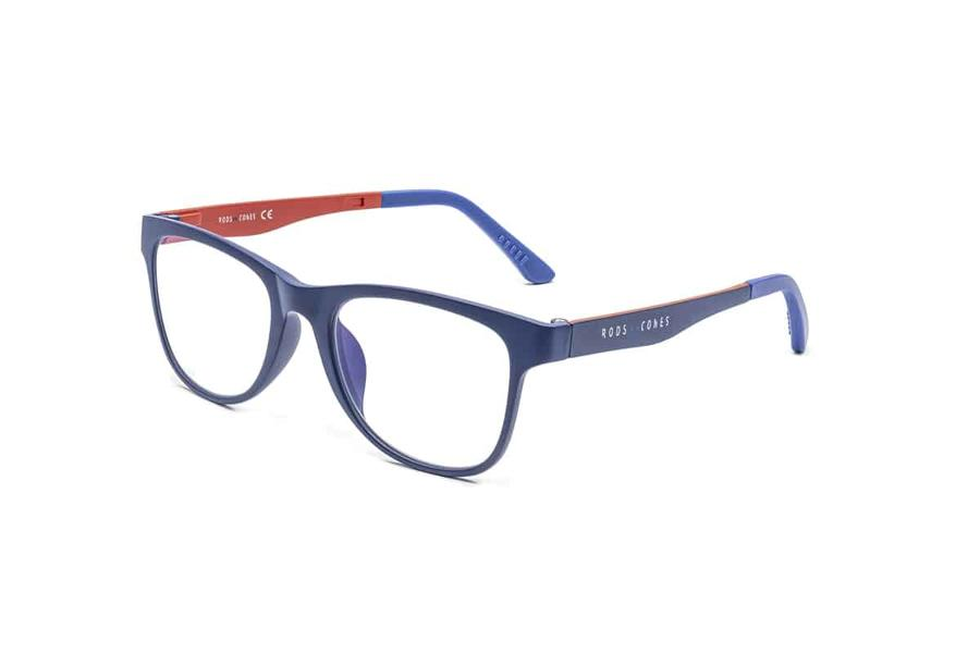 Montatura in plastica Ottici Shop OSRC03D - Lenti neutre Blu Protect incluse -