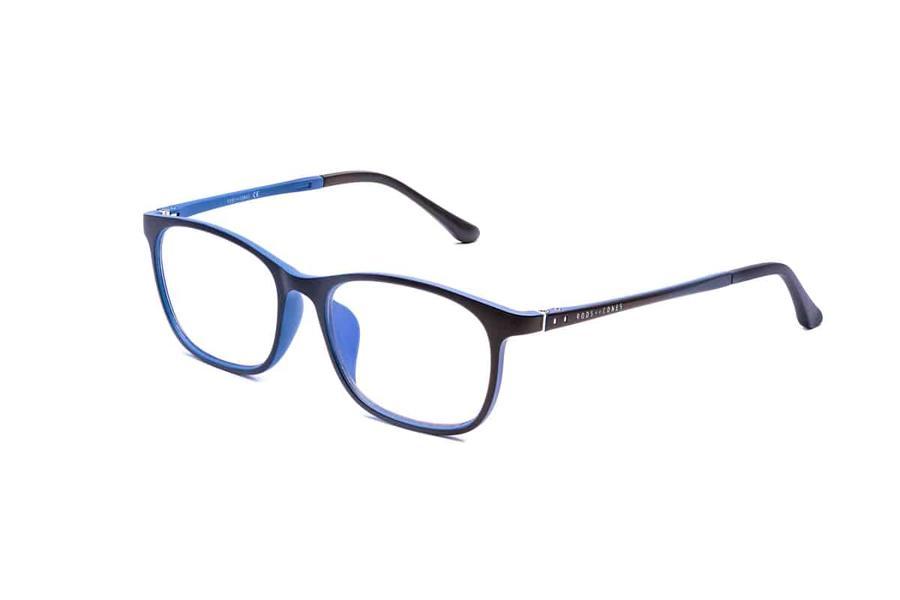 Montatura in plastica Ottici Shop OSRC01 - Lenti neutre Blu Protect incluse
