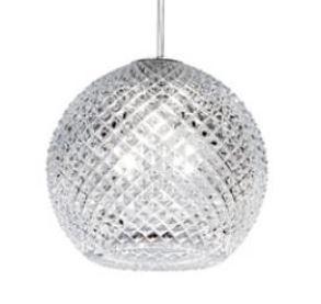 Lampada a Sospensione Diamond&Swirl di Fabbian con Diffusore in Cristallo Molato a Mano e Metallo Cromato Lucido, Varie Finiture - Offerta di Mondo Luce 24