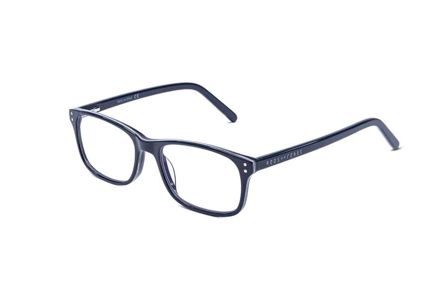 Montatura in plastica Ottici Shop OSRC04 - Lenti neutre Blu Protect incluse