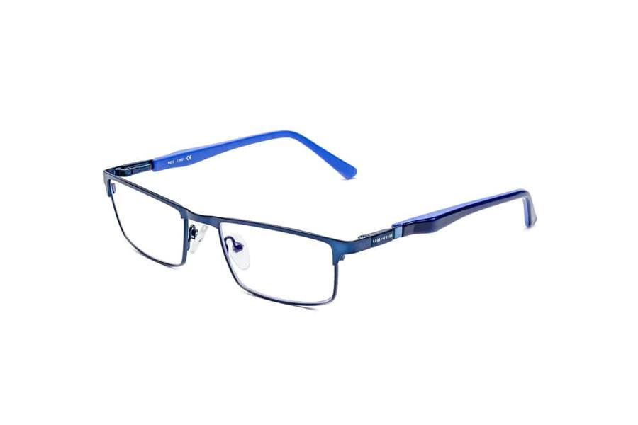 Montatura in metallo Ottici Shop OSRC06 - Lenti neutre Blu Protect incluse