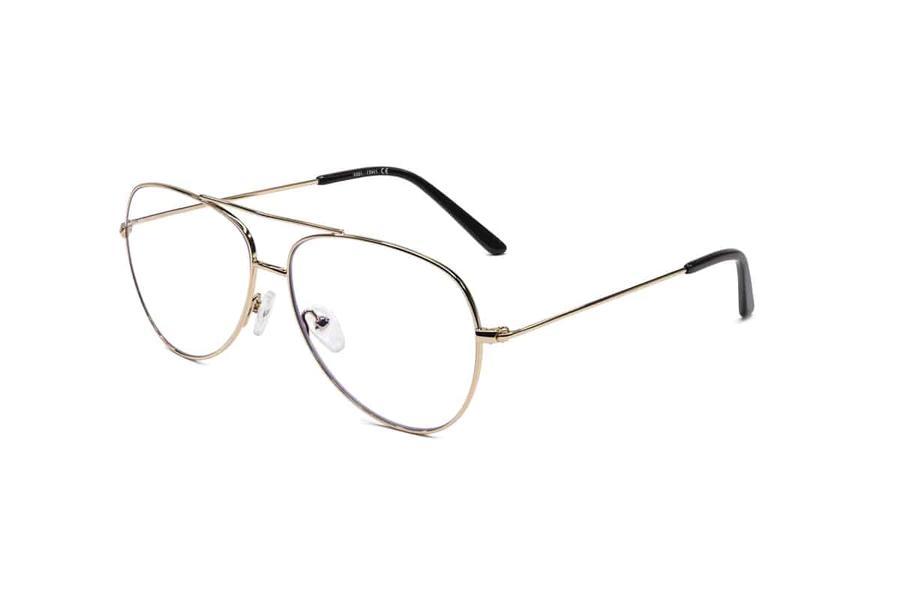 Montatura in metallo OcchialeAmico OSRC08D - Lenti neutre Blu Protect incluse