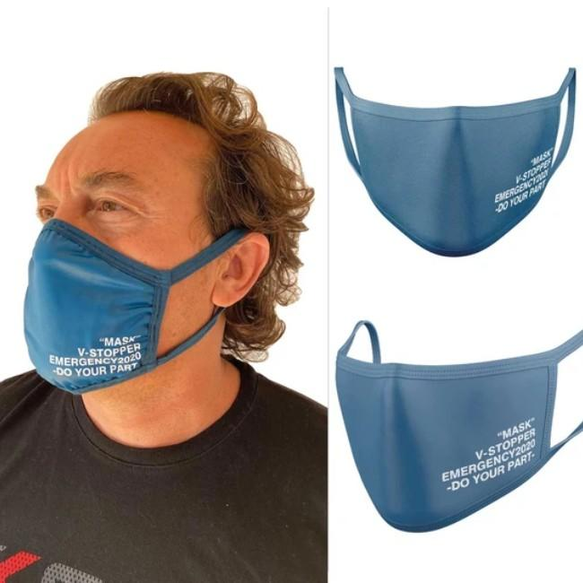 Fabric face mask for adults