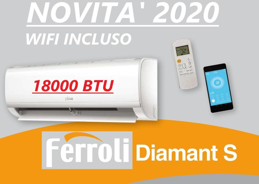 FERROLI DIAMANT S - 9.000 BTU - 12000 BTU - 18000 BTU - 24000 BTU