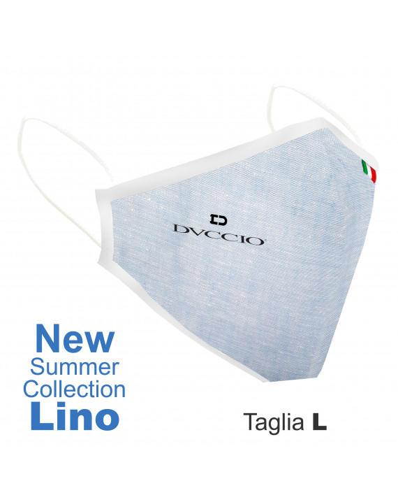 Mascherina Lino Lavabili Dvccio