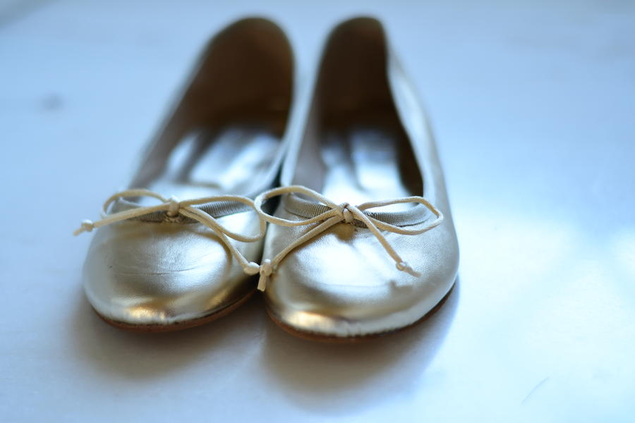 Ballerina in pelle