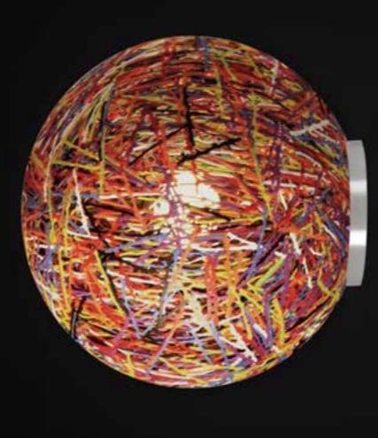 Lampada da Parete/Soffitto Reload di Emporium in Materiale Plastico Termofuso e Metallo, Varie Finiture – Offerta di Mondo Luce 24