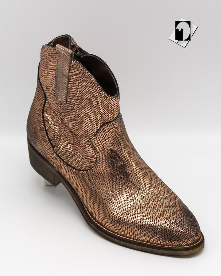 Xboy Shoes E568 gun argento e oro rosa