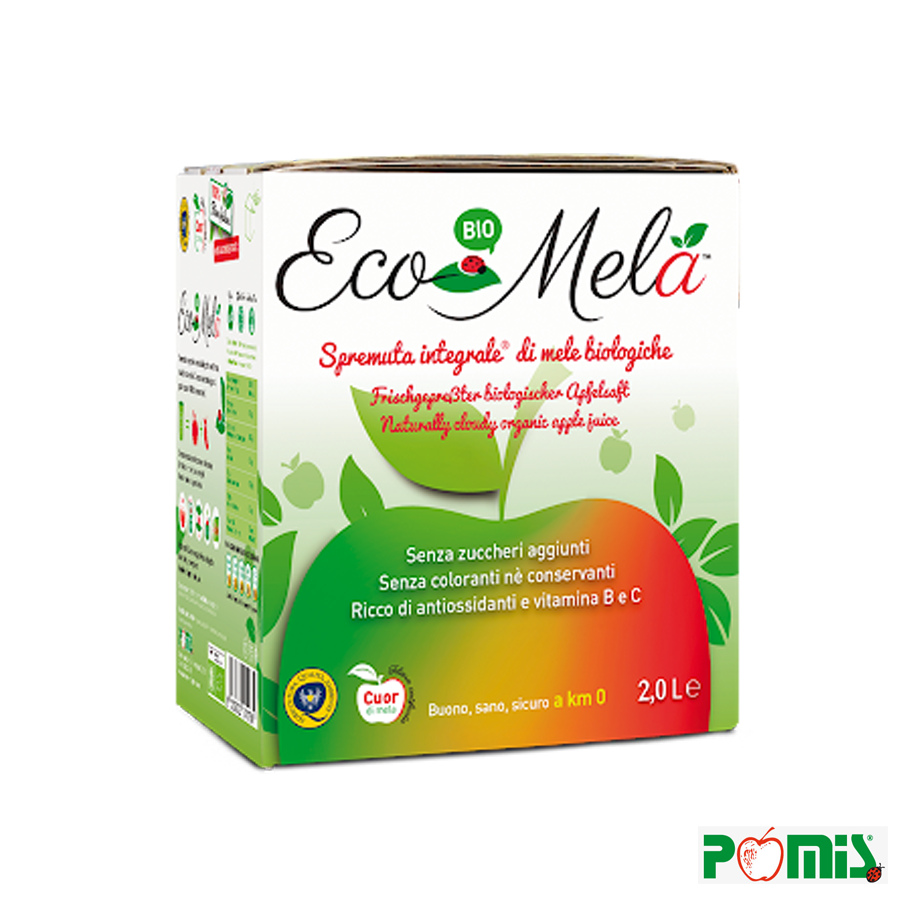 2lt Spremuta integrale di Mele Bio - Bag in Box