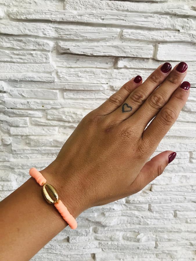 braccialetto heishi polimerica
