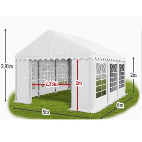 TENDONE PER FESTE 5x12 PVC 550G CON LATERALI IGNIFUGO RINFORZATO BY MYGARDEN
