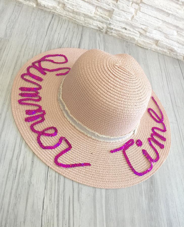 Cappello Grace base ROSA