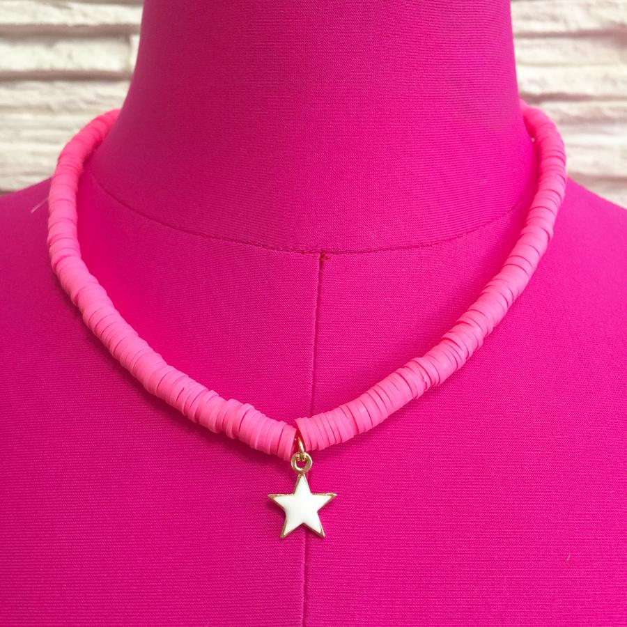Collana perline Heishi 3 mm ROSA & VARIANTI