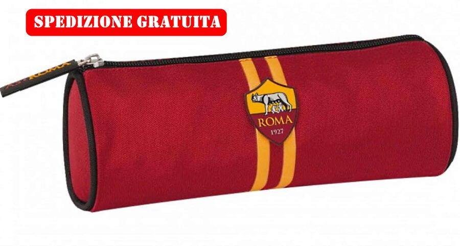 Astuccio Tombolino Roma Vuoto Ufficiale As Roma 1927 Calcio GialloRossi stagione 2020/2021 62726