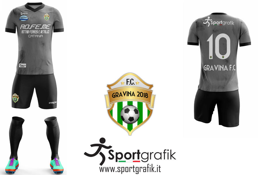 Away Kit Gravina Football Club