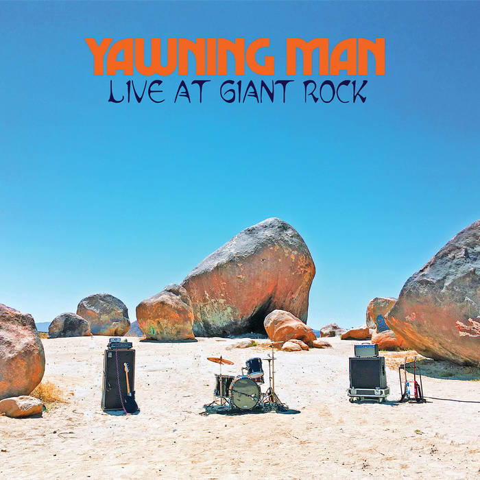 """Yawning Man """"Live at the Giant Rock"""" PRE-ORDER!!! Limited Edition Yellow Vinyl/Traditional Black Vinyl/Digipack/Dvd!!!! Available from  30.10.2020"""