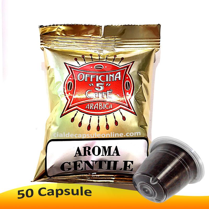 🔔Capsule aggiuntive Aroma Gentile Officina 5 per Nespresso